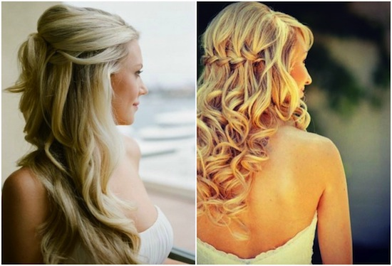 Hair inspiration: Heavenly Hair | Wedding hairstyles for long hair