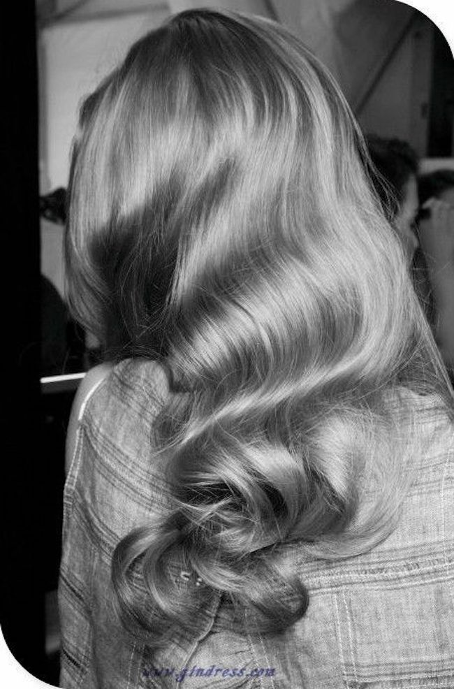 Hollywood waves for long hair 3