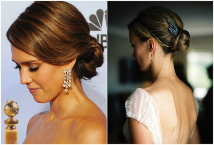 Getting Down With Wedding Updos