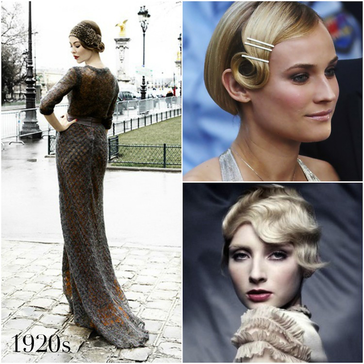 A Nod to Yesteryear | Vintage wedding hairstyles | A brief history