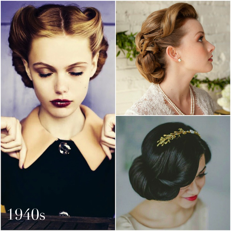 1940s vintage wedding hairstyles by Percy Handmade