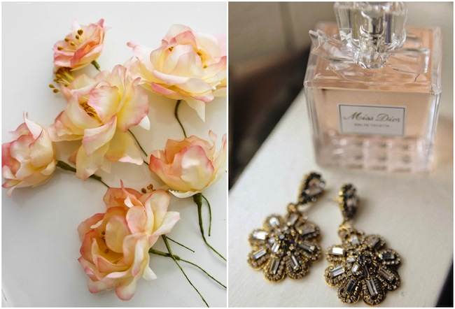Peach and cream wedding inspiration 2