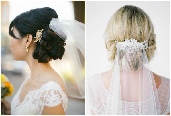 wedding hairstyles for veils_updo