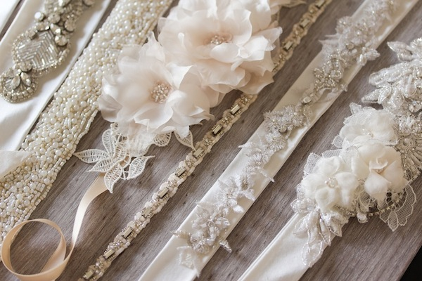 Percy Handmade wedding sash belts_How to tie a sash belt