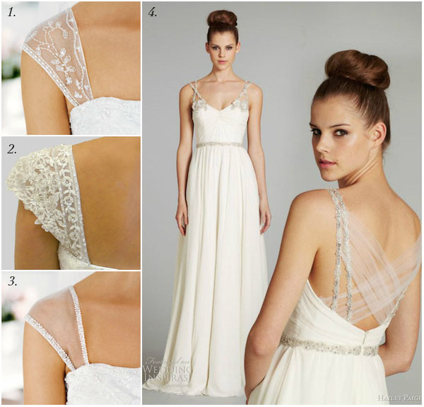 Straps for Wedding Dresses