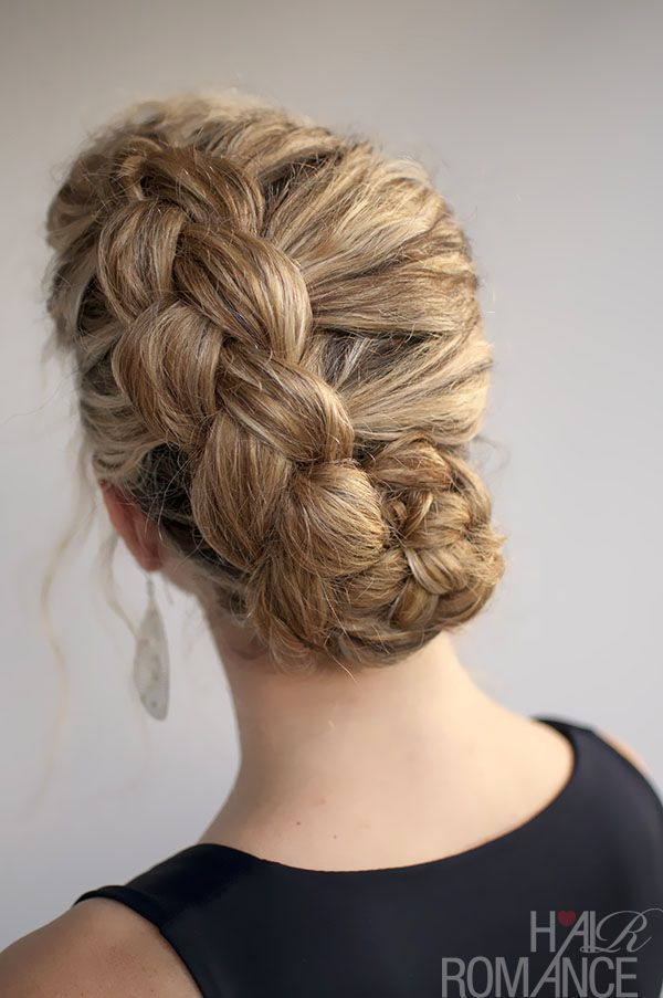 Naturally Curly Wedding Haristyles Dutch Braid 5