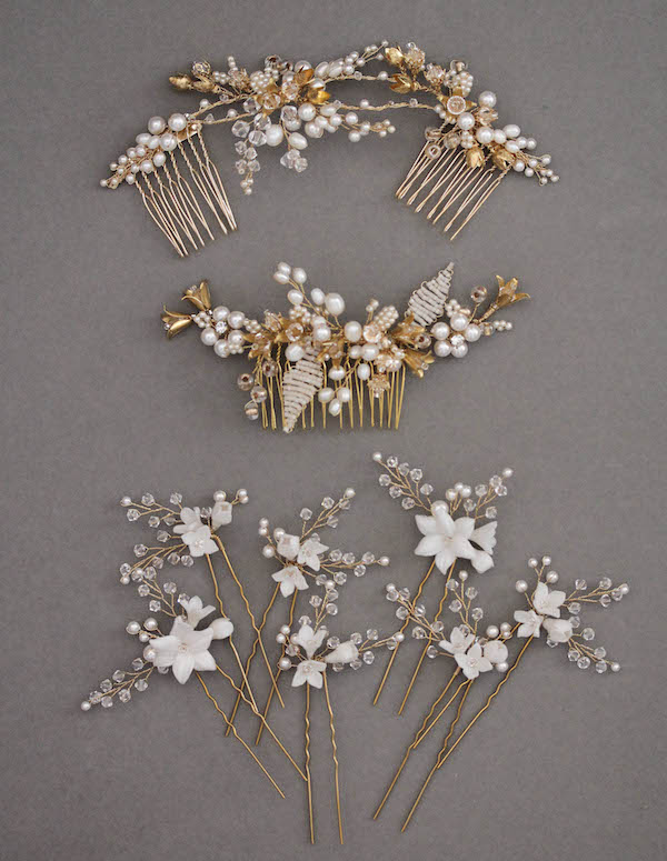 Bespoke for Katherine_gold bridal comb with pearls 3