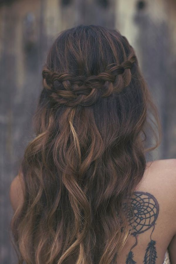 Half up wedding hairstyles 17