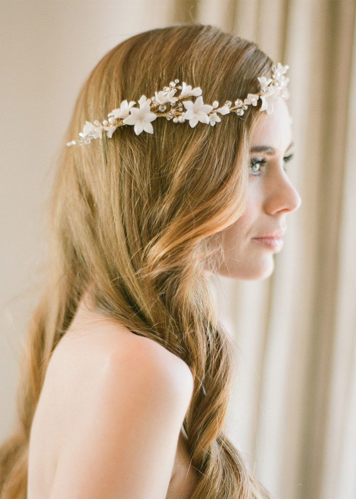 Worry-Free Wedding Hair | 3 ways to secure a metal hair comb - EDEN headpiece