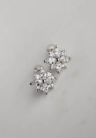ELIZA crystal stud earrings 4