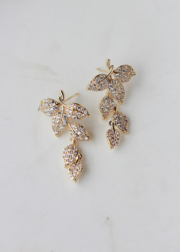 EVELYN earrings in gold 1