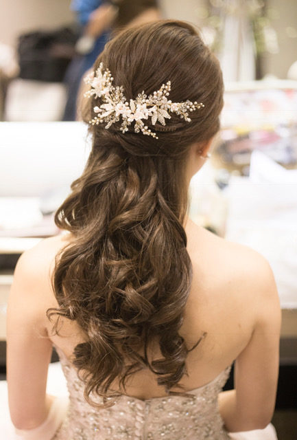 Wedding Veils And Headpieces How To Create The Layered Look Blush Gold Hair