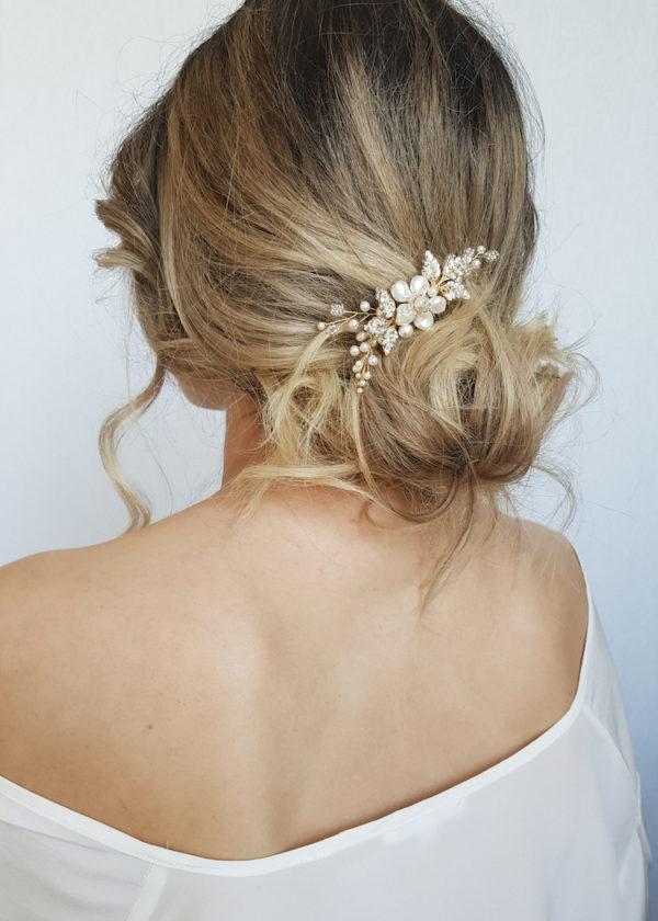 ARIES bridal hair comb 1