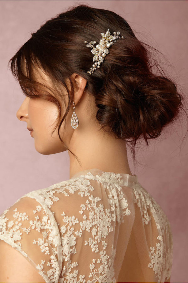 ARIES bridal hair comb