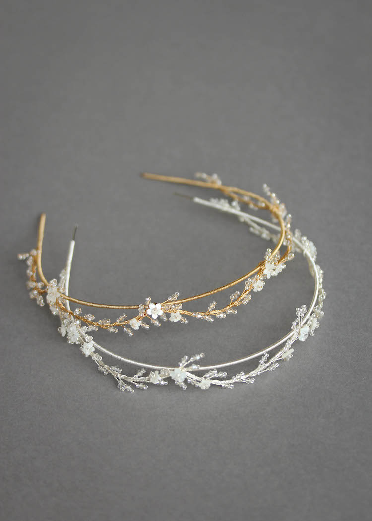 Royal Classique | Delicate wedding crowns for the understated bride