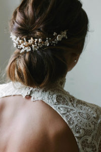 SOMERSET floral bridal headpiece 2