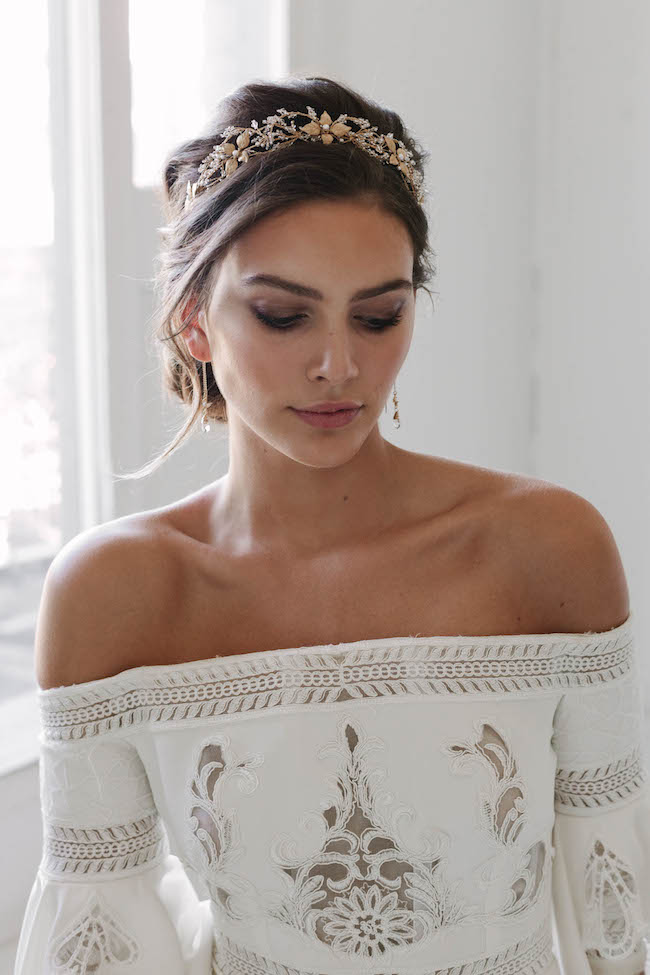 TANIA MARAS - Rosebury wedding crown