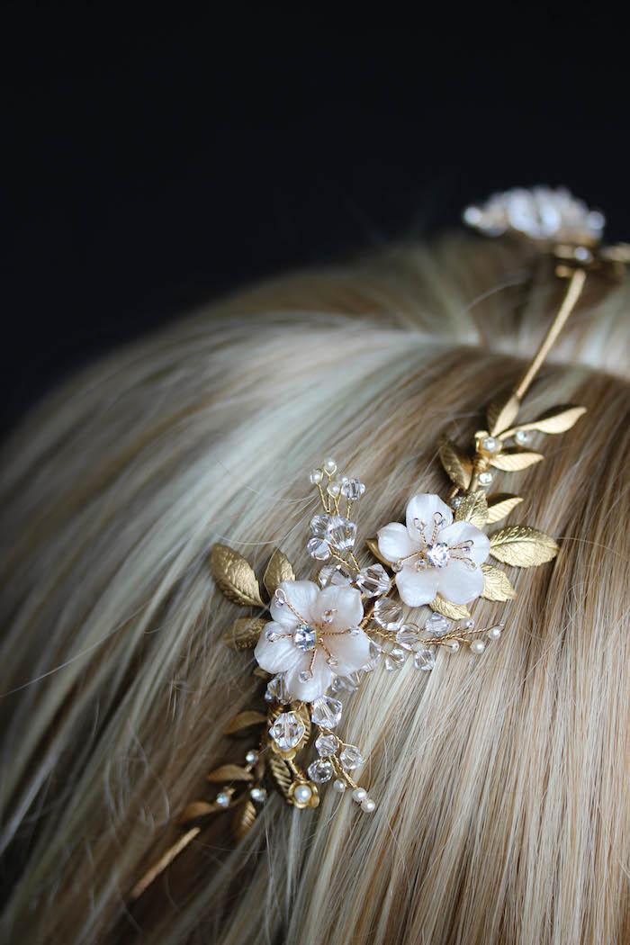 BESPOKE for Justyna_Dita Coco wedding crown headpiece 4