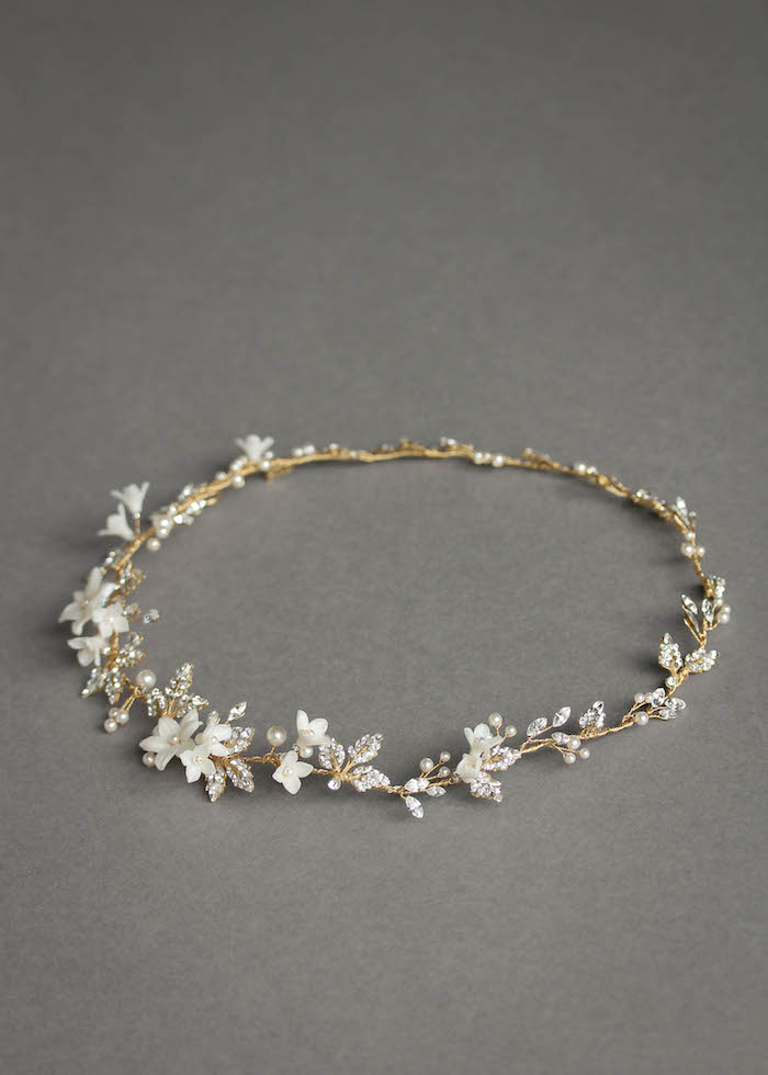 For the love of mixed metals | Boho bridal headpiece 3
