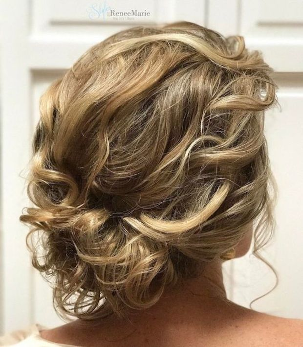 Curly hair updos you'll love 3