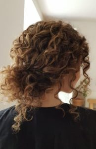 Curly hair updos you'll love 4