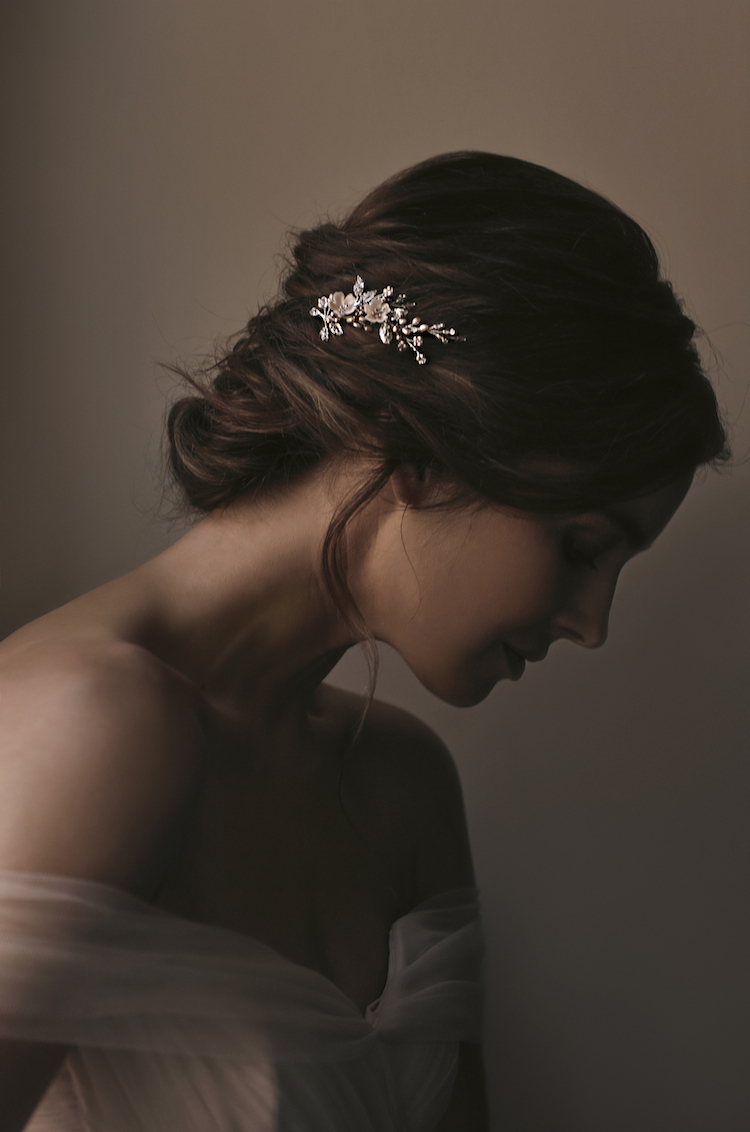 Rose Tints | Blush wedding headpieces you will love