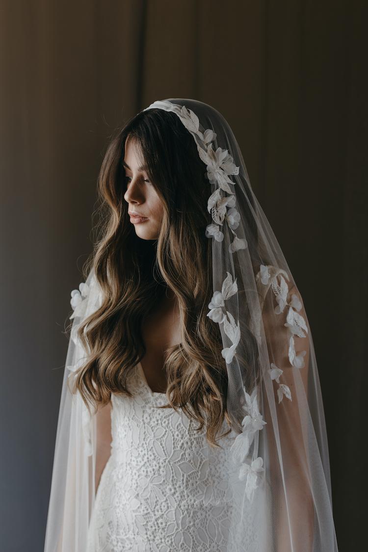 CARMEN Juliet cap veil 1