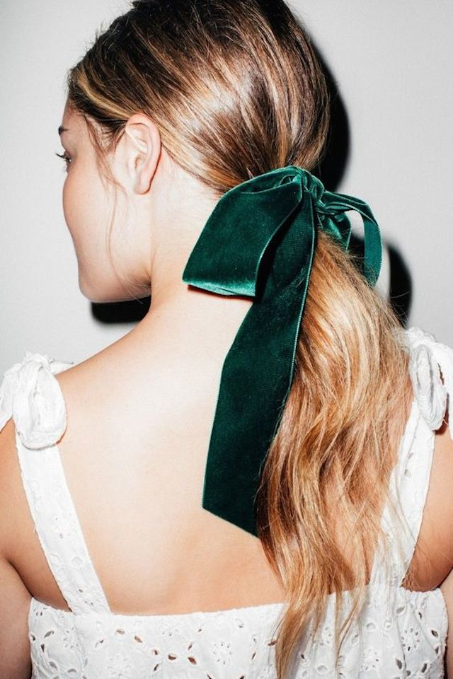 2018 wedding hair trends_ponytail 2