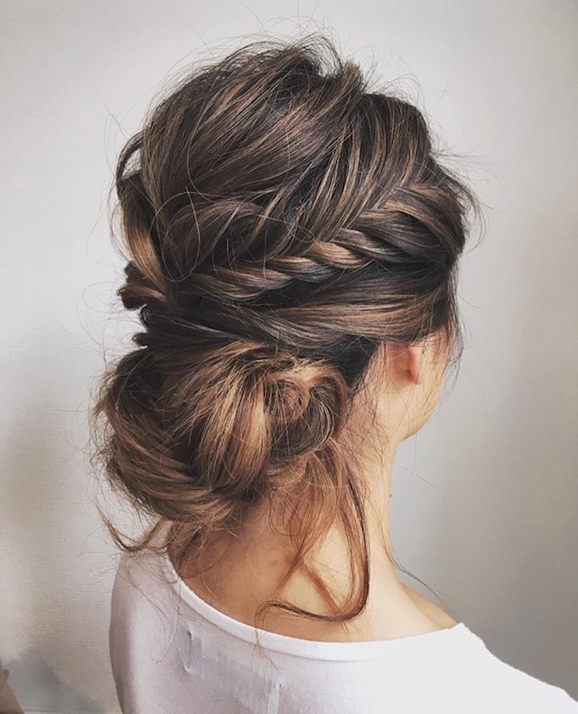 Braided Updo 2018 Bridal Hair Trends