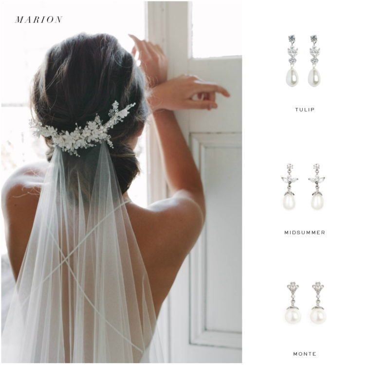 Perfect Pairs | How to choose bridal earrings to suit your wedding dress neckline