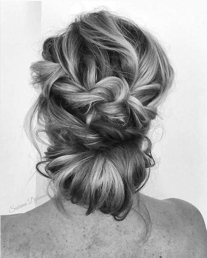 Gorgeous messy wedding updos 1