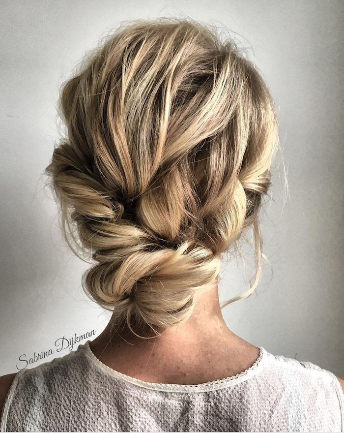 Gorgeous messy wedding updos 11