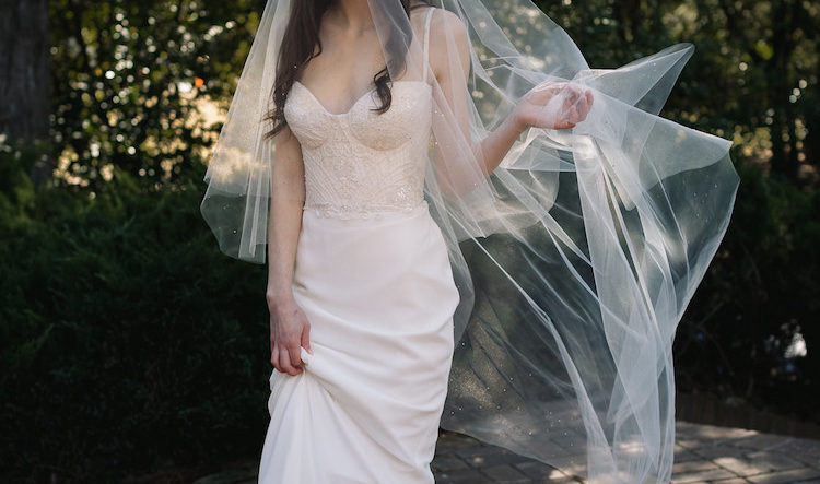 How to choose the best long wedding veil
