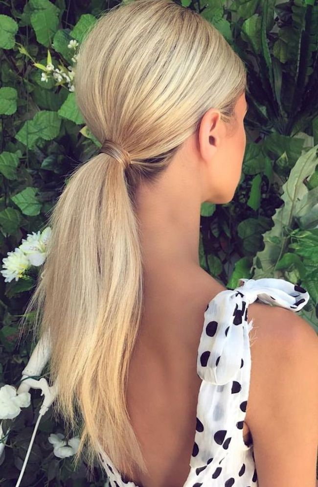Playful Ponytails Styling The Classic Wedding Ponytail Tania