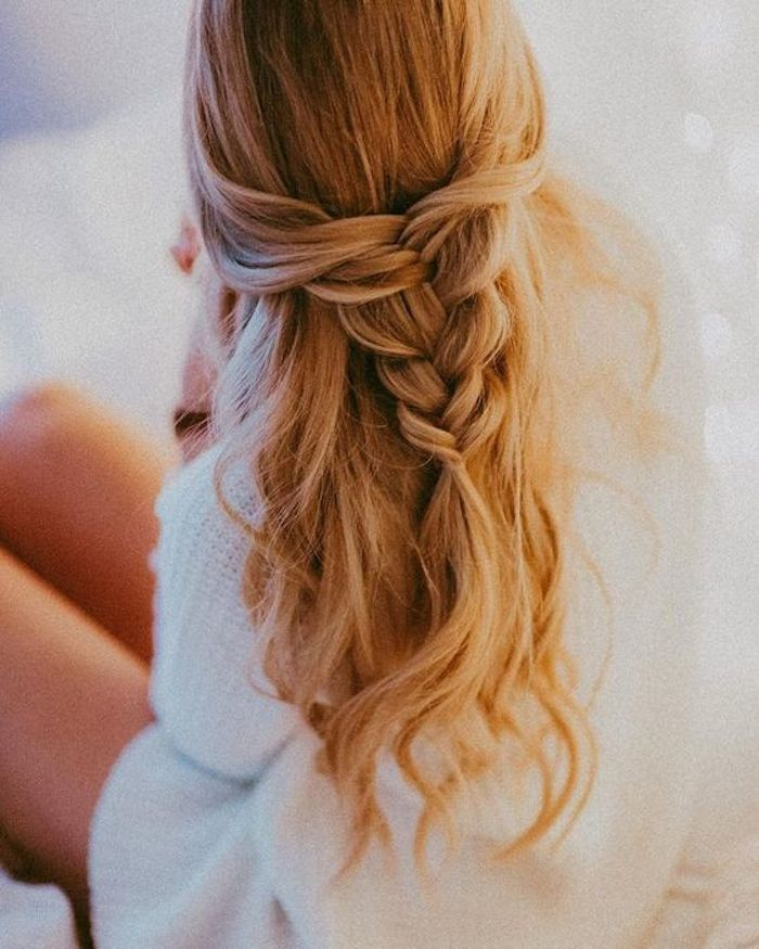 37 beautiful half up half down hairstyles_braided 2