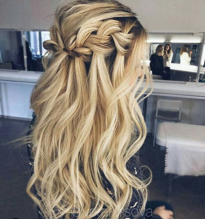 37 beautiful half up half down hairstyles_braided 4