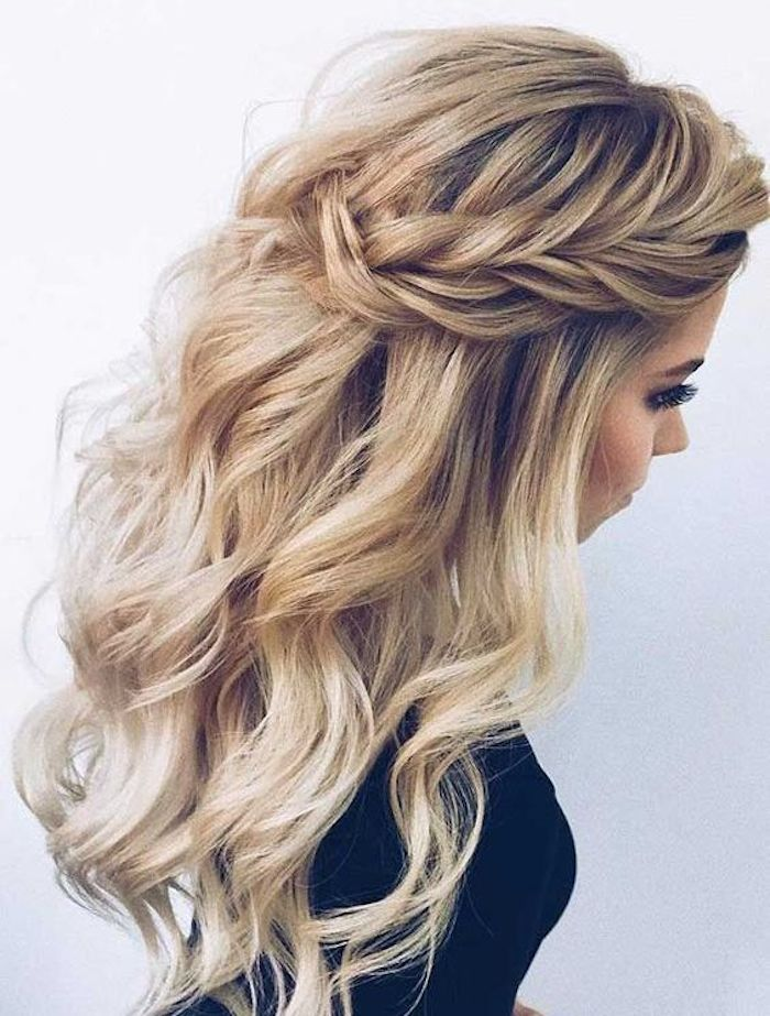 37 beautiful half up half down hairstyles_braided 5