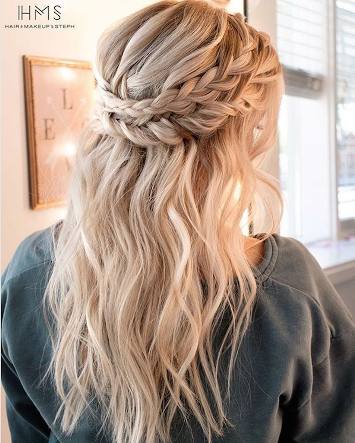 37 beautiful half up half down hairstyles_braided 7