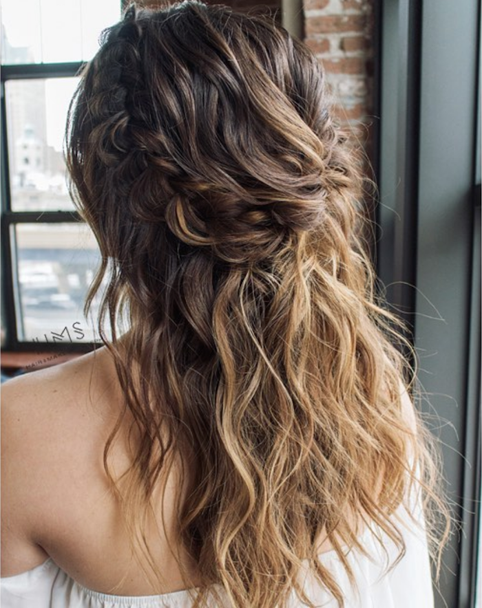 37 beautiful half up half down hairstyles_braided 8