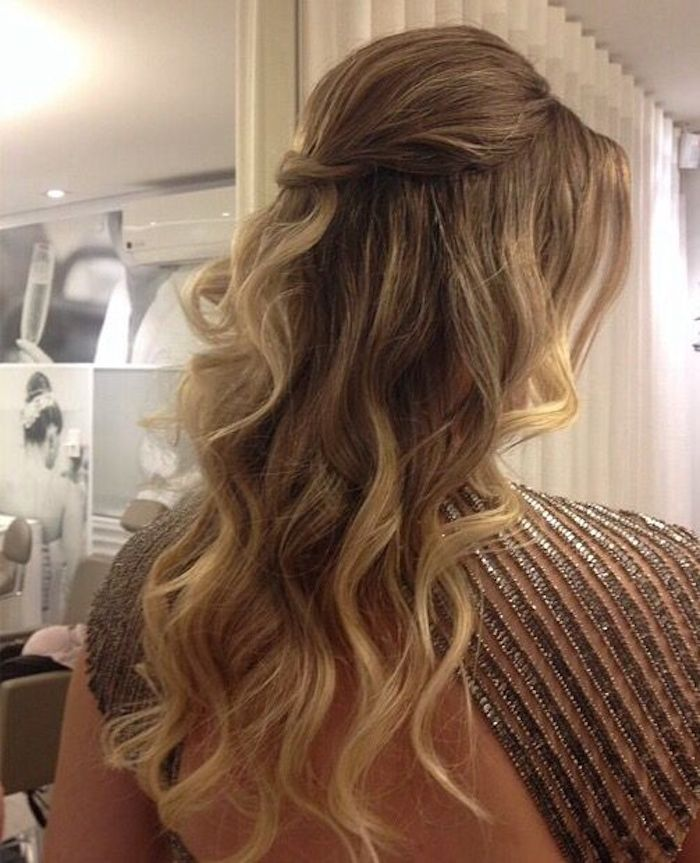 37 beautiful half up half down hairstyles_twisted hair 1