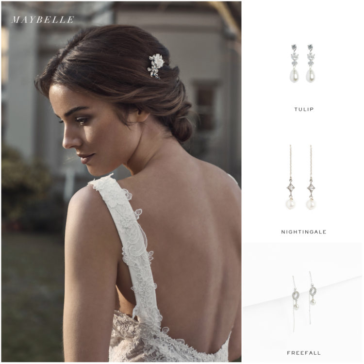 MAYBELLE hair pin and earring suggestions