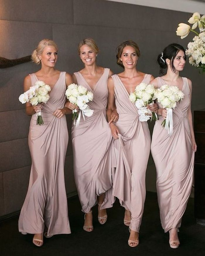 Beautiful bridesmaids hairstyles_bridal updos