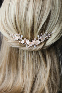 Bespoke for Jessica_silver blush bridal hair vine 2