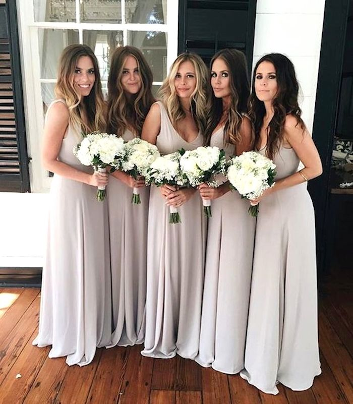 Bridesmaids hairstyles_long wavy hairstyles