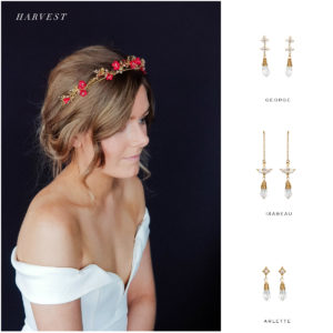 HARVEST crown and earring suggestions