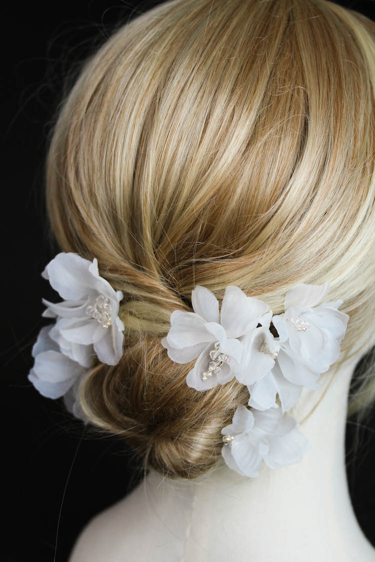 ROSA wedding hair flowers 1