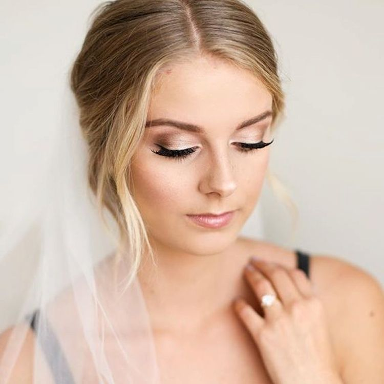Our favourite wedding hairstyles with veils_wedding updos with veil 1