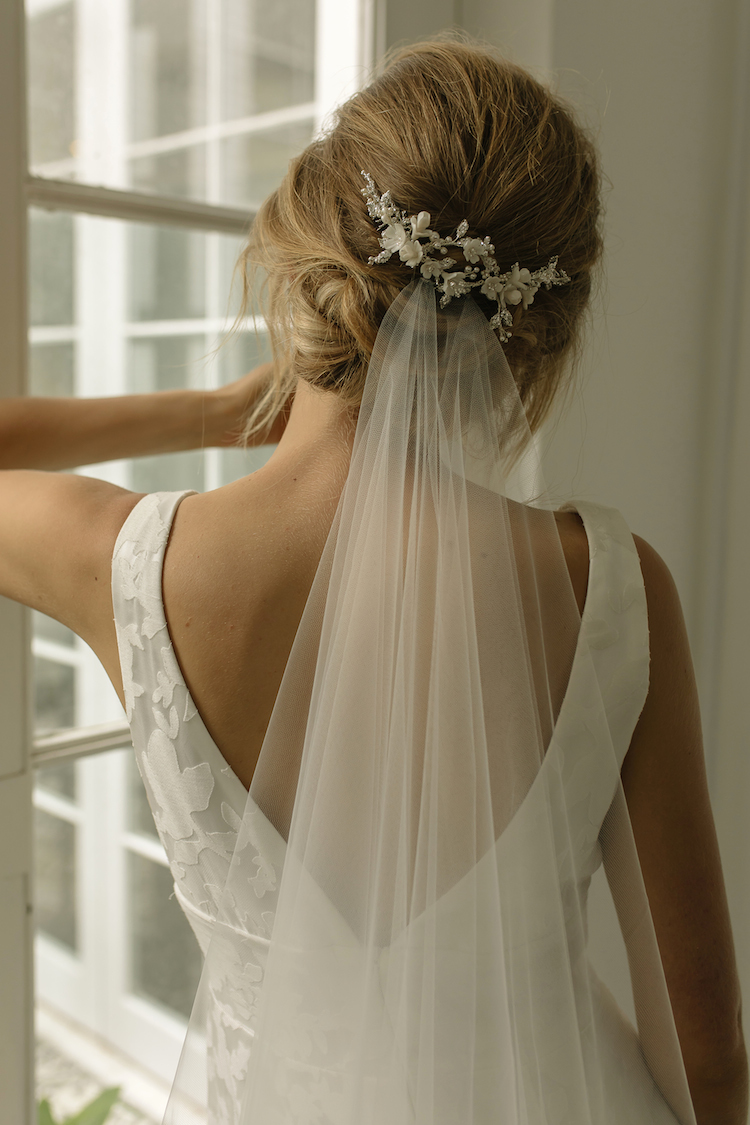 Our favourite wedding hairstyles with veils_wedding updos with veil 10
