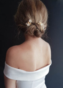 APPLE BLOSSOM bridal hair pieces 3