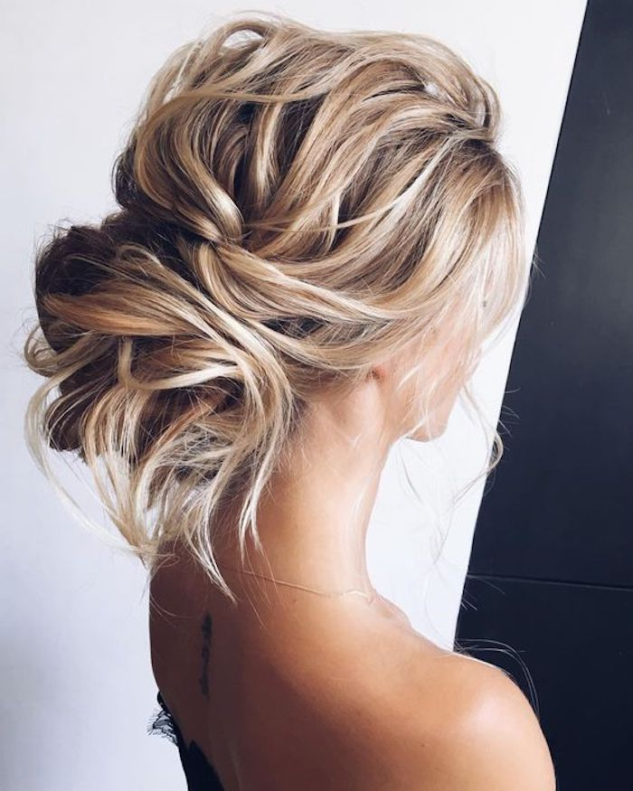 LOOSE UPDOS_Simple and stunning wedding hairstyles you'll love 11